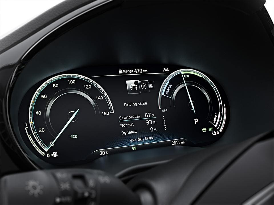 kia ceed sportswagon plug-in hybrid digitalcluster